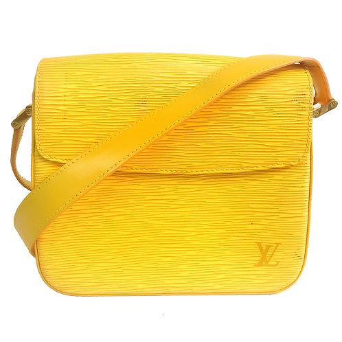 Louis Vuitton / ルイヴィトン エピ ビュシ ショルダーバッグ YELLOW