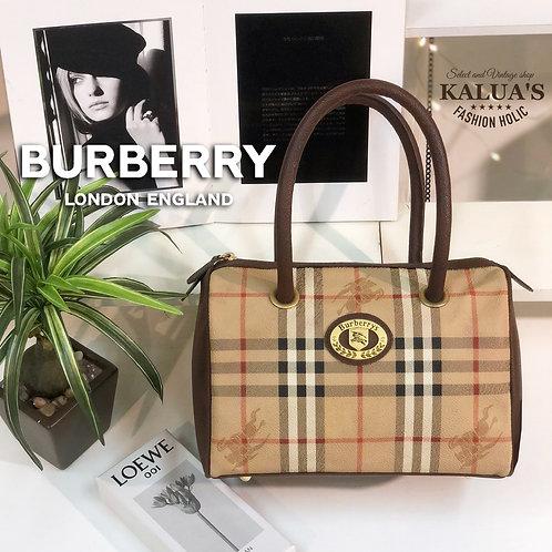 BURBERRY バーバリークラシックチェックミニボストンバッグ