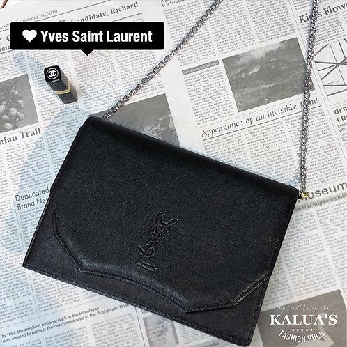 Yves Saint Laurent/ イヴサンローラン BIGロゴカスタムチェーン2WAYバッグ
