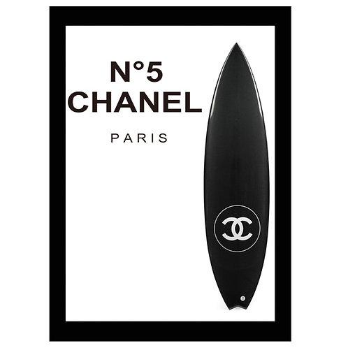 フレーム付き縦A4サイズアートポスター CH#SURF-A1 (即納)