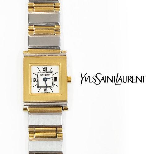 Yves Saint Laurent/イヴサンローランスクエア腕時計【20%OFF】