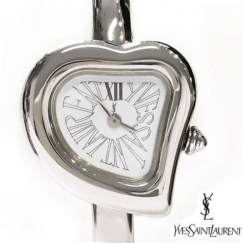 Yves Saint Laurent / イヴサンローラン 40th Anniversary ハート ブレスレッドウォッチ腕時計