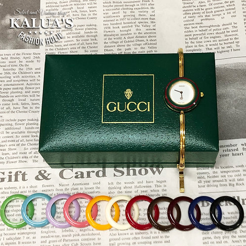 GUCCI/グッチ チェンジベゼルレディースウォッチ 腕時計 QZ 12color