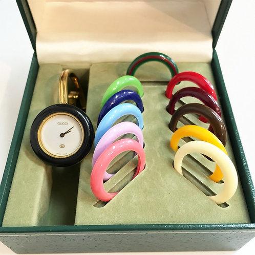 GUCCI/グッチ チェンジベゼルレディースウォッチ 腕時計/クォーツ 12color [102011]