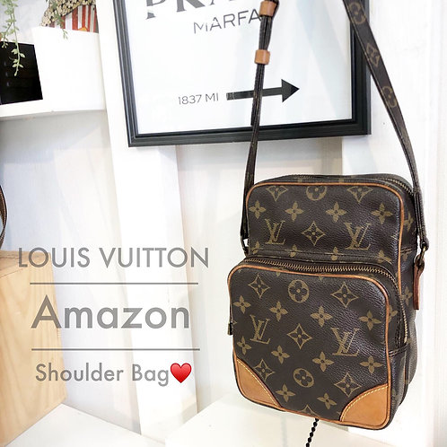 LOUIS VUITTON/ルイヴィトンアマゾンショルダーバッグ