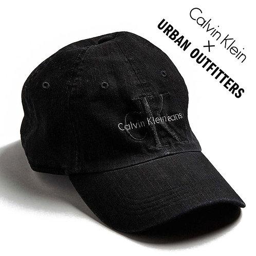 海外限定!CALVIN KLEIN JEANS×UO WASH DENIM CAP BLACK