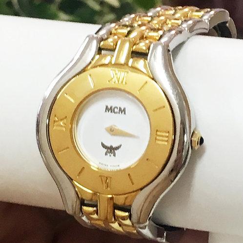 MCM / エムシーエム コンビカラー レディースウォッチ 腕時計  クォーツ