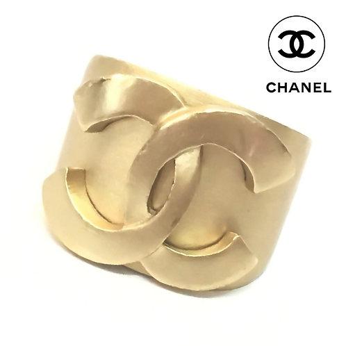 CHANEL / シャネル BIGココマーク リング 指輪 #13 ゴールド