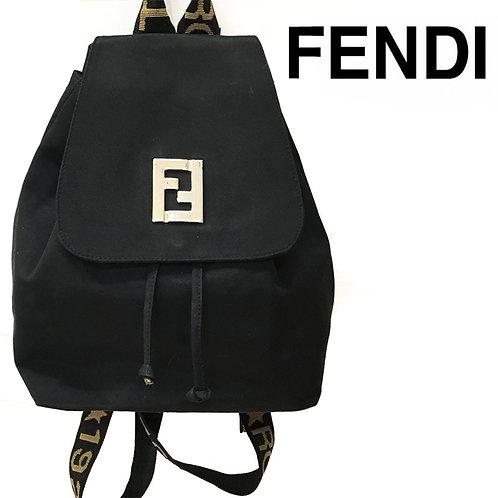 FENDI / フェンディ ロゴストラップ リュック バックパック
