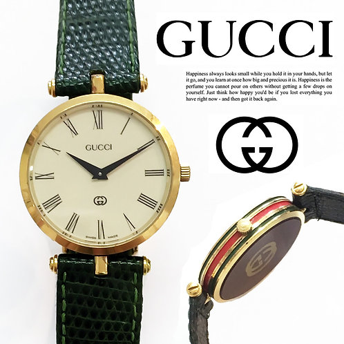GUCCI / オールドグッチ シェリーライン ダブルG  ウォッチ 腕時計