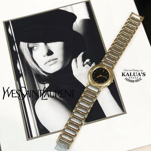 Yves Saint Laurent / イヴサンローランバイカラーボーイズ腕時計