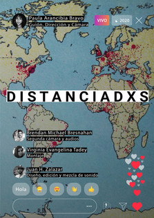 Distanciadxs, de Paula Arancibia Bravo - Argentina - 9'
