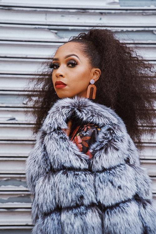 """""""Farrah's"""" Fur Vest"""