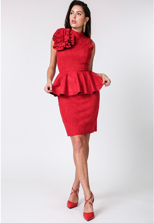 Peplum Rose