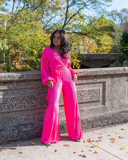 """Think Pink"" Two-Piece Set"