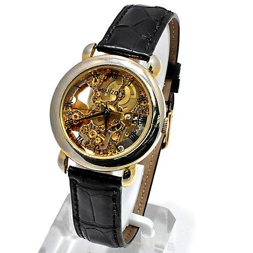Suizo Skeleton Watch