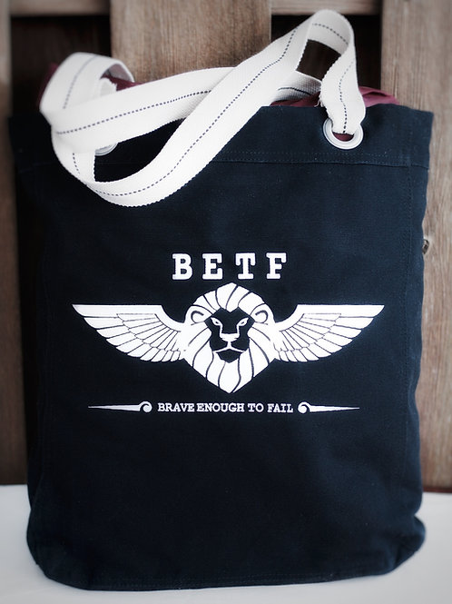 The Brave Enough Tote Bag...Nuff said.