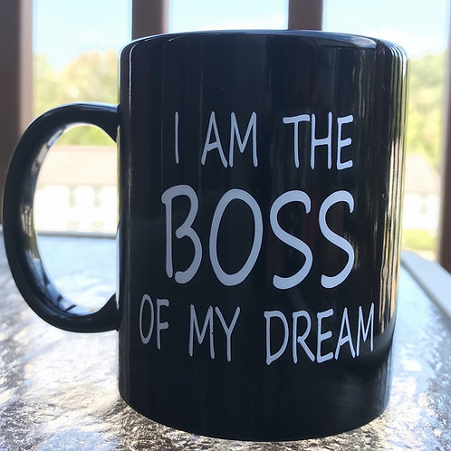 Drink to your success with a Boss Mug