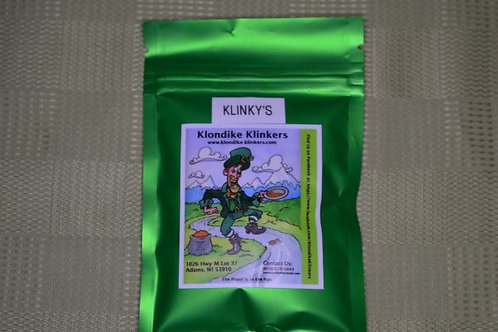 KLINKY'S 4 OZ GOLD PAY DIRT SAMPLE BAG