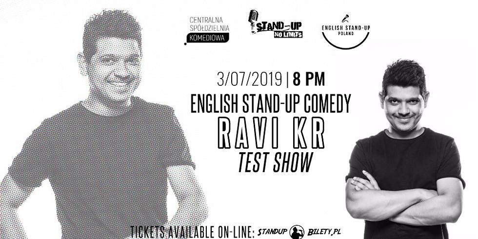 Ravi Kr - #Woke (TEST SHOW)