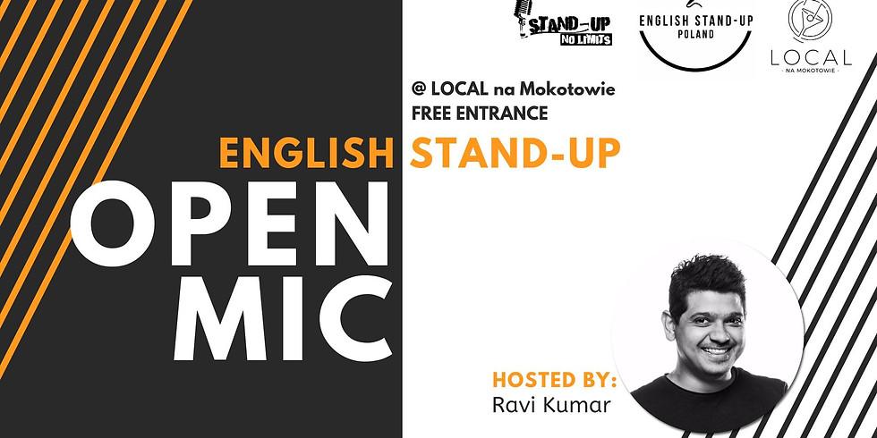 Stand-up No Limits: English open mic (28.06)