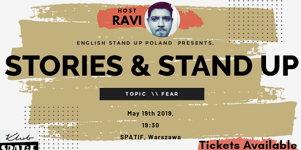 Stories & Stand up - FEAR