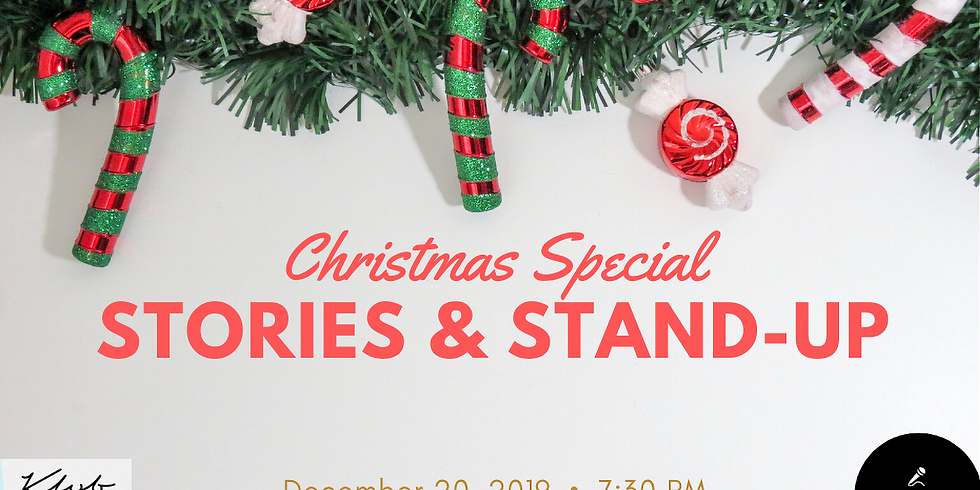 Stories & Stand-up: Christmas Special