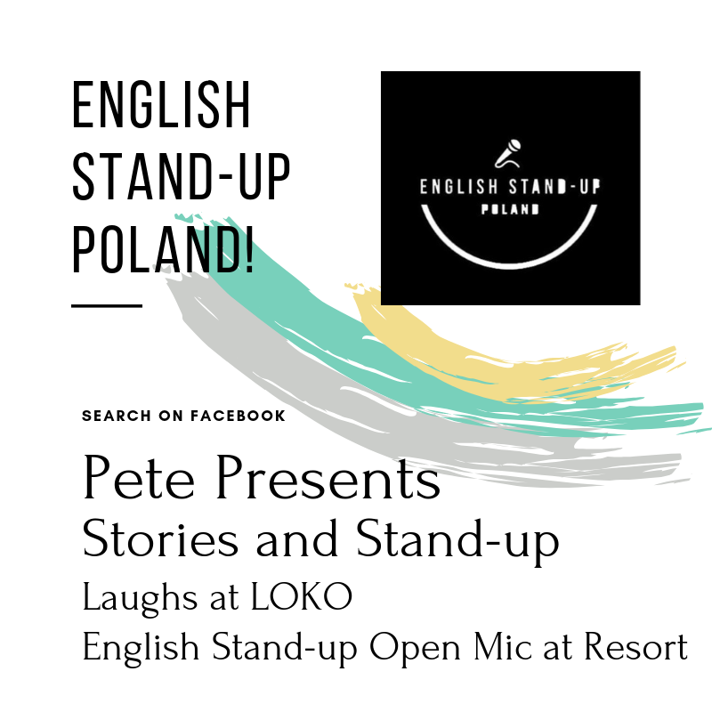 English stand up Poland shows