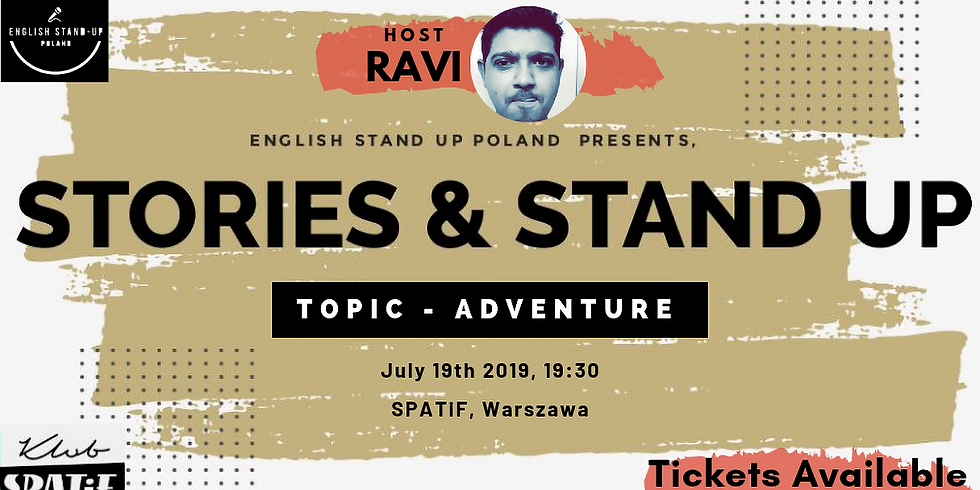 Stories & Stand Up 4. Theme: Adventure