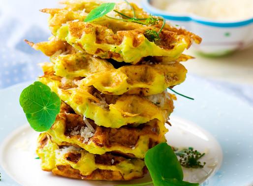 Keto Cauliflower Waffles