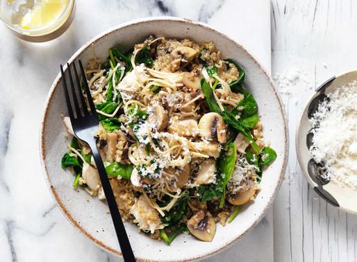 Mushroom & Chicken Quinoa Risotto