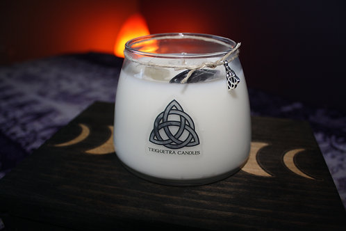 Triquetra Large Diaga (Divine) Candle