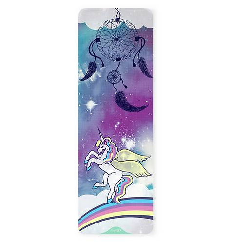 Kids Yoga Mat - Unicorn & Dreamcatcher