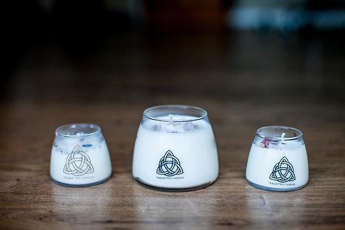 Triquetra Large Cairdeas (Friendship) Candle