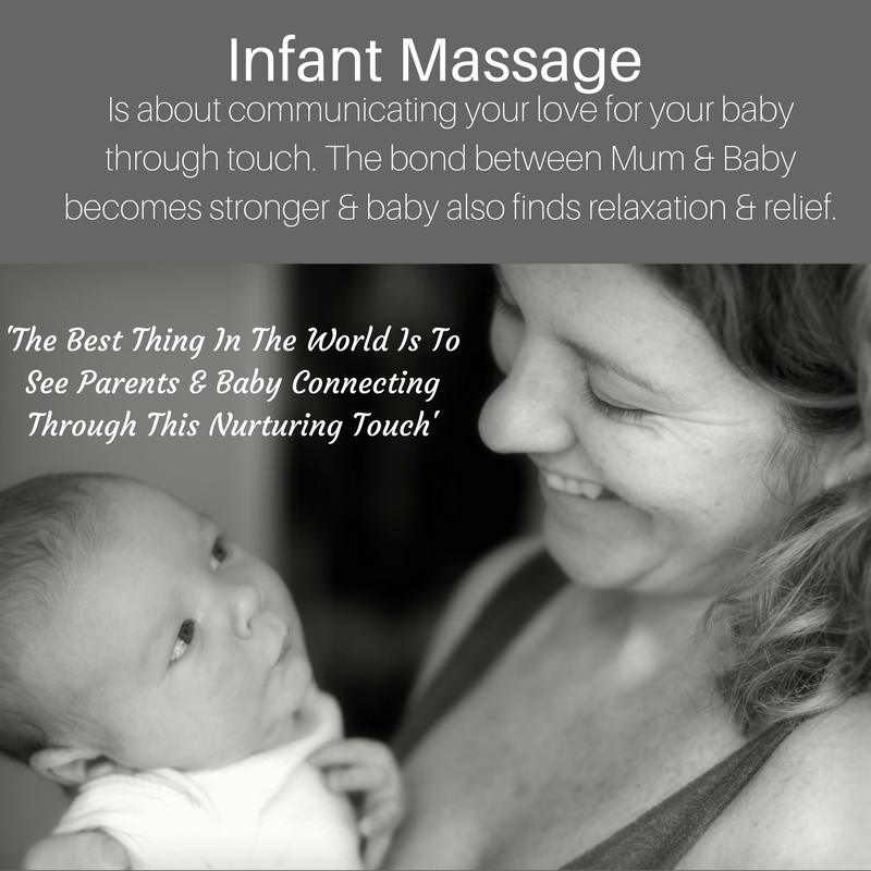 Infant and baby massage
