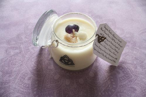 Triquetra Large Raidhse (Abundance) Candle