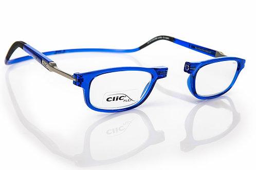 משקפי קריאה CLIC FLEX Rectangular XL Blue