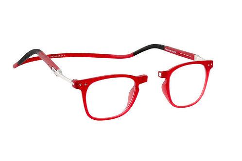 משקפי קריאה Clic FLEX Manhatten Red