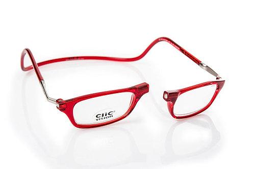 משקפי קריאה Clic Classic XL Red