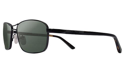 משקפי שמש REVO CLIVE   SATIN BLACK   SMOKY GREEN