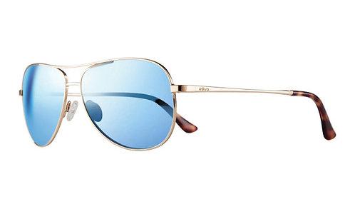 משקפי שמש REVO | RELAY PETITE | GOLD | BLUE WATER