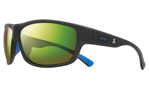 משקפי שמש REVO X BEAR GRYLLS CAPER   MATTE BLACK   EVERGREEN