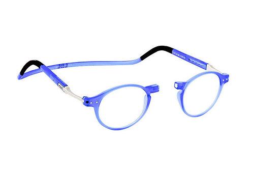 משקפי קריאה Clic FLEX Brooklyn Blue