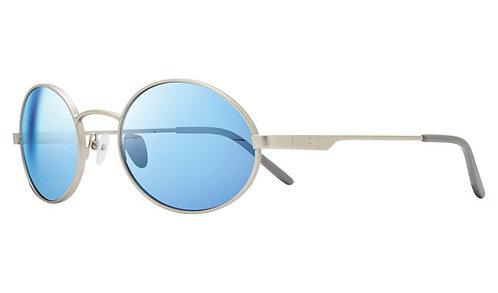 משקפי שמש REVO LUNAR | MATTE CHROME | BLUE WATER