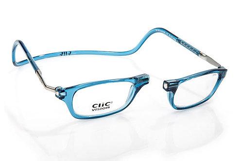 משקפי קריאה Clic Classic XL Blue Jean