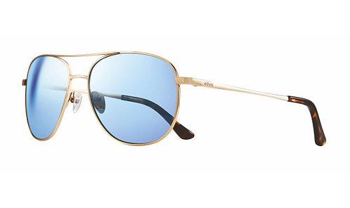 משקפי שמש REVO MAXIE | GOLD | BLUE WATER