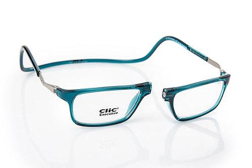 משקפי קריאה Clic Executive Blue Jean