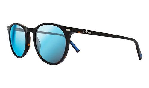 משקפי שמש REVO SIERRA | TORTOISE | H2O BLUE