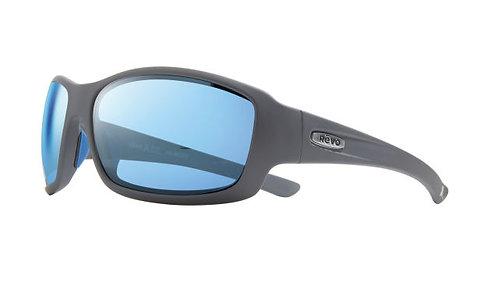 משקפי שמש REVO X BEAR GRYLLS MAVERICK | MATTE GRAPHITE | BLUE WATER