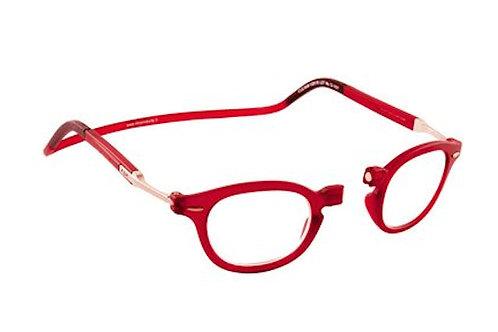 משקפי קריאה Clic FLEX Vintage Red